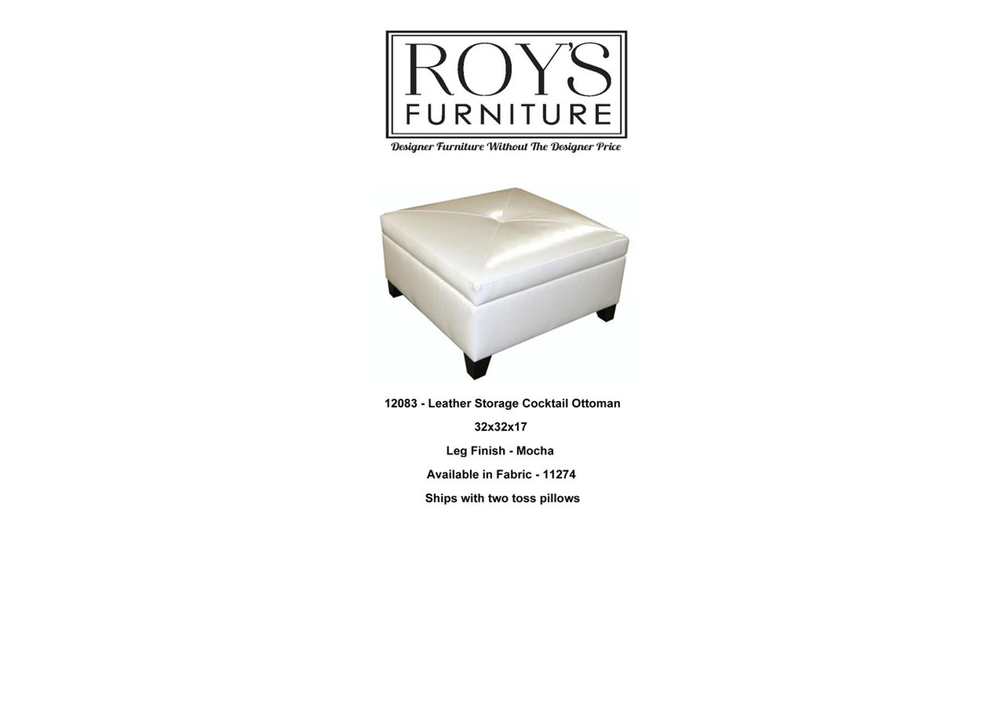 Super Leather Storage Ottoman Roys Furniture Chicago Designer Creativecarmelina Interior Chair Design Creativecarmelinacom