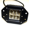 AK318-S2A-FLOOD 18 Watt 6 LED Flush Mount Cube Light Flood Pattern