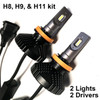 HEADLIGHTS-H8/H9/H11-V6s Version 6s Headlight Kit
