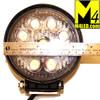 27w Round LED Off Road Light - Flood