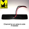 """4"""" x 3/4"""" Red LED Surface Mount Clearance Lights"""