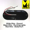 """6"""" Red LED Oval Surface Mount Running and Stop Lamp"""