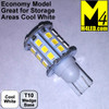 921-30-2835-CW Cool White Economy 2835 SMD Light Bulb with Wedge Base