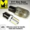 T25-SIL-CW Cool White 110/120v T25 LED with E17 Base