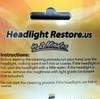 Headlight Restore Kit