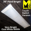 """KW-295-660-TS 26"""" Touch Switch Surface Mount Panel Light"""