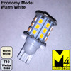 921-30-2835-WW Warm White Economy 2835 SMD Light Bulb with Wedge Base