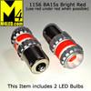1156-G12-RED PAIR 1156 Brake and Tail Light