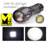FL-10W Bright 10 Watt full Aluminum Body Flashlight with CREE LED