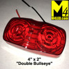 "4"" x 2"" LED Red Clearance Light"