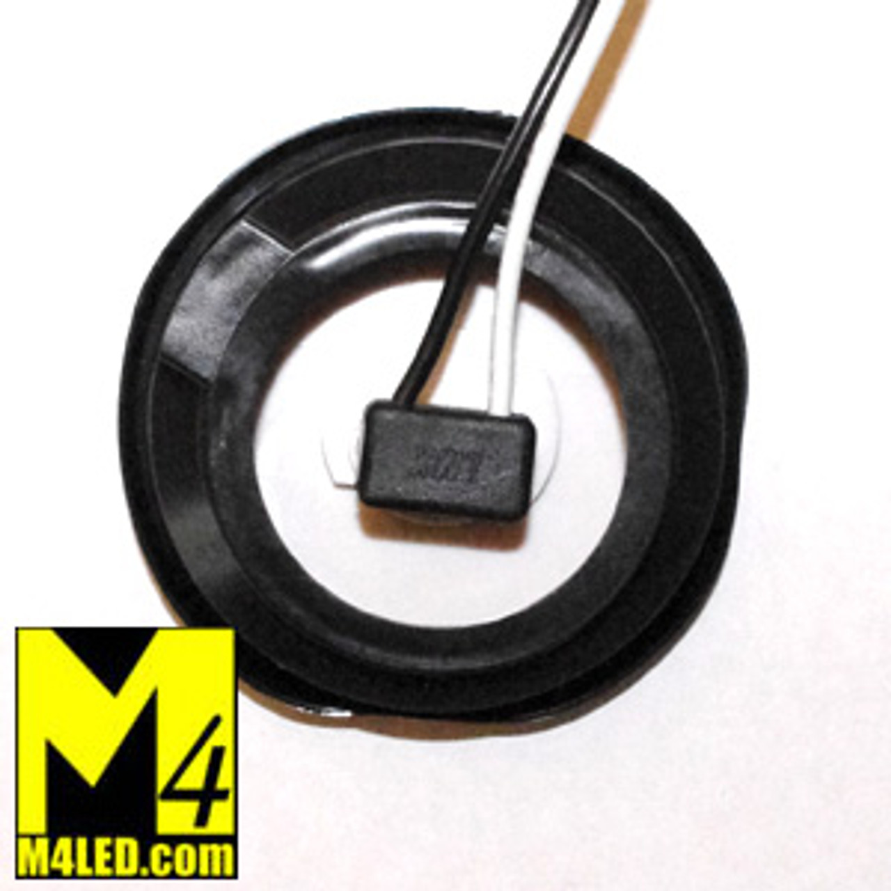 """30% Off - 2.5"""" Amber LED Round Clearance Lamp with seal and harness"""