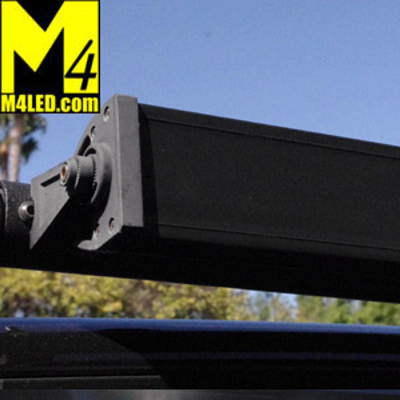 """Double Row Light Bar Cover Black ABS 39.875""""  fits 40"""" Lights 2.85"""" tall or less"""