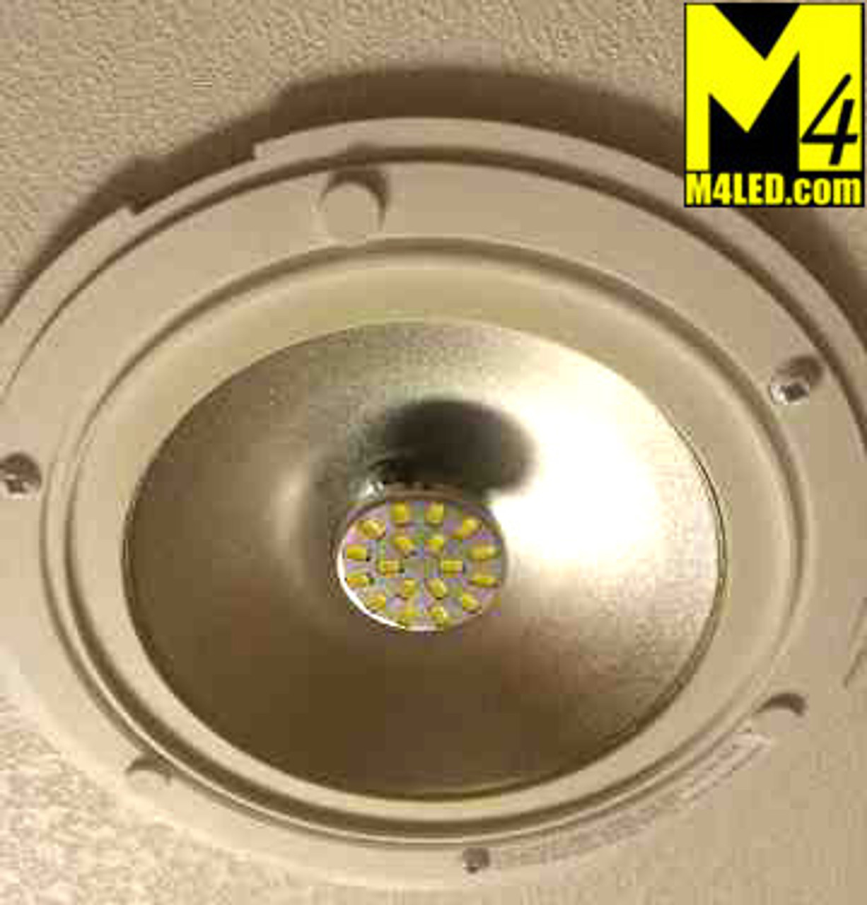 G4-18-5630-BACK-WW Warm White Elite Series G4 / T3 Samsung 5630 LEDs Back Pins to replace 20w Halogen