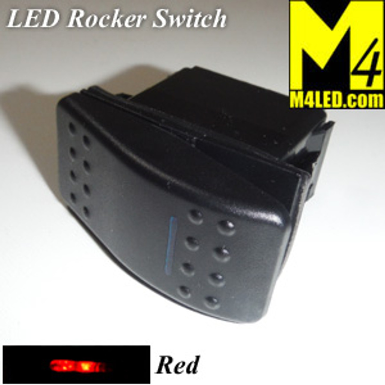 SWITCH-ROCKER-RED 20 Amp Red Rocker Switch