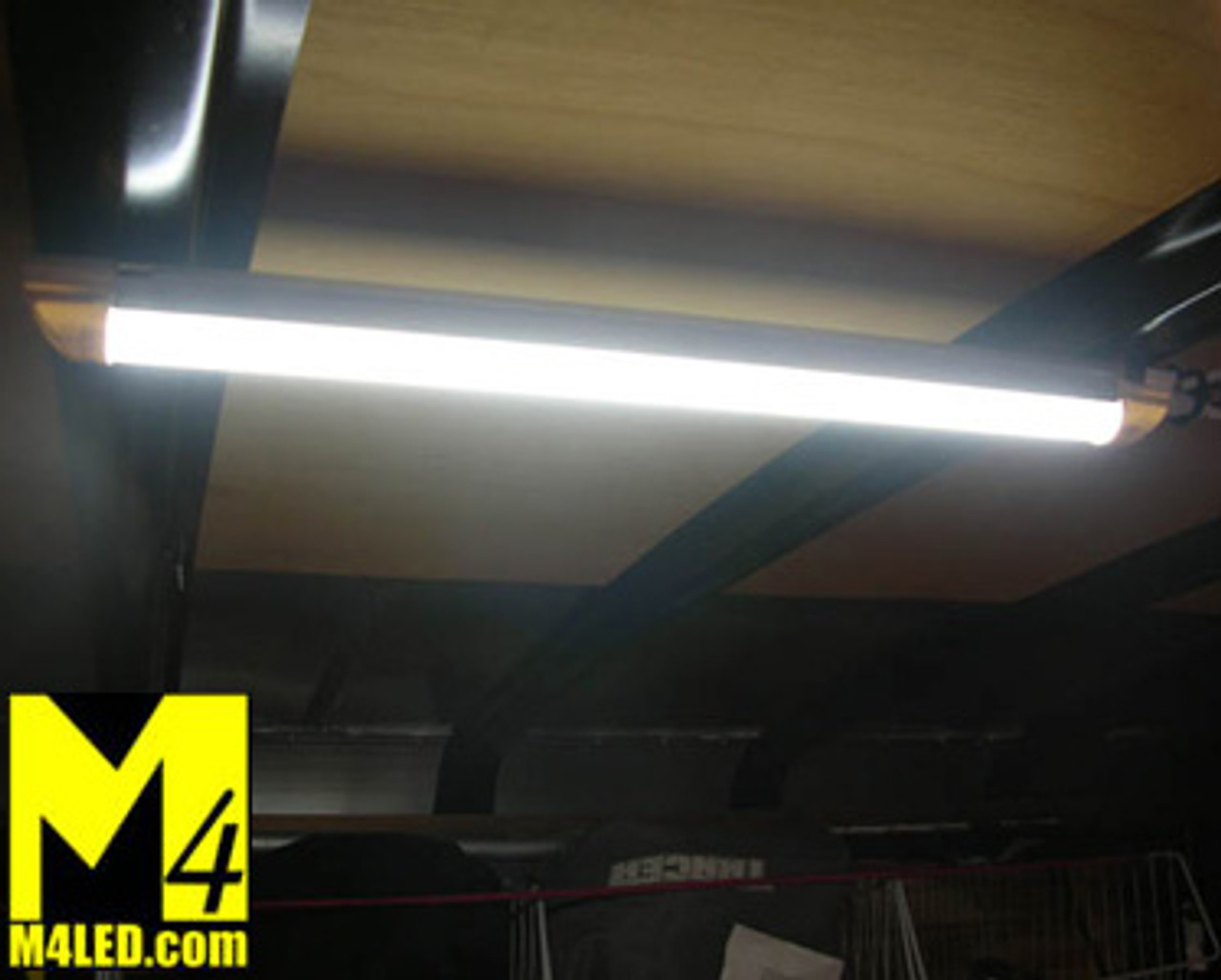 """T8-STANDALONE-NW Natural White Self Contained 18"""" T8 LED Tube Light 12v 4500k"""