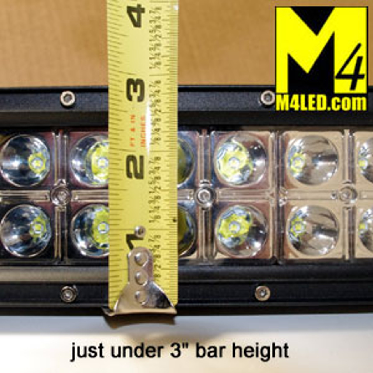 "Light Bar 50"" 288W CREE LED Chips - Combo Pattern"