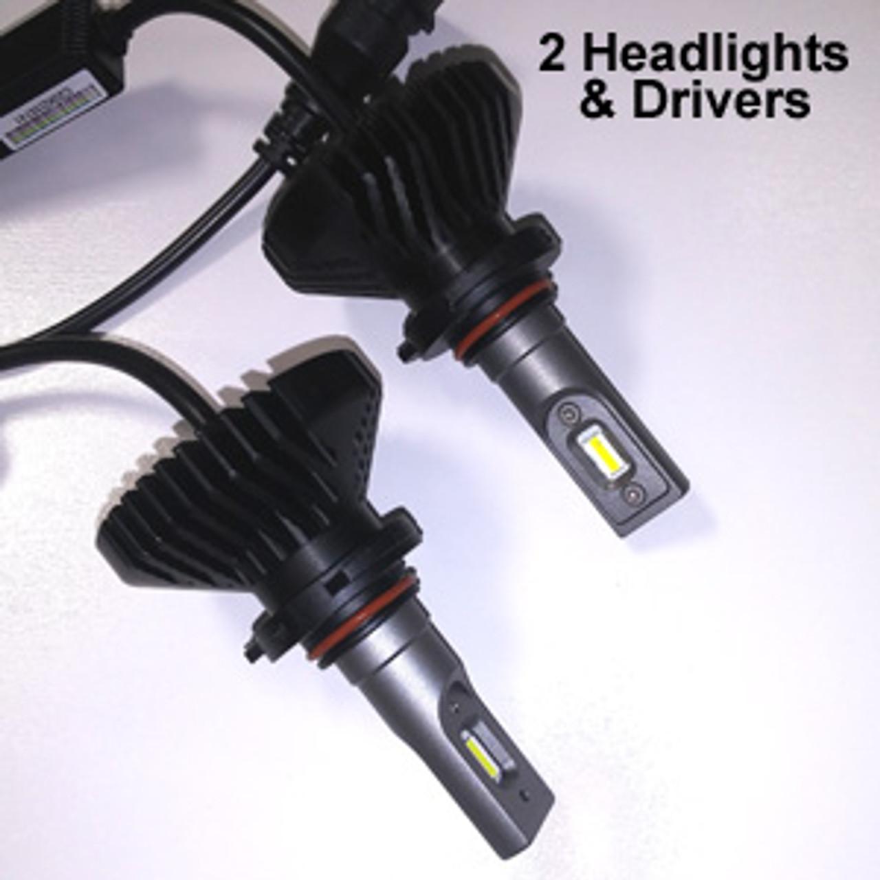 HEADLIGHTS-9005-V6s Headlight Kit with 9005 (HB3) Bases