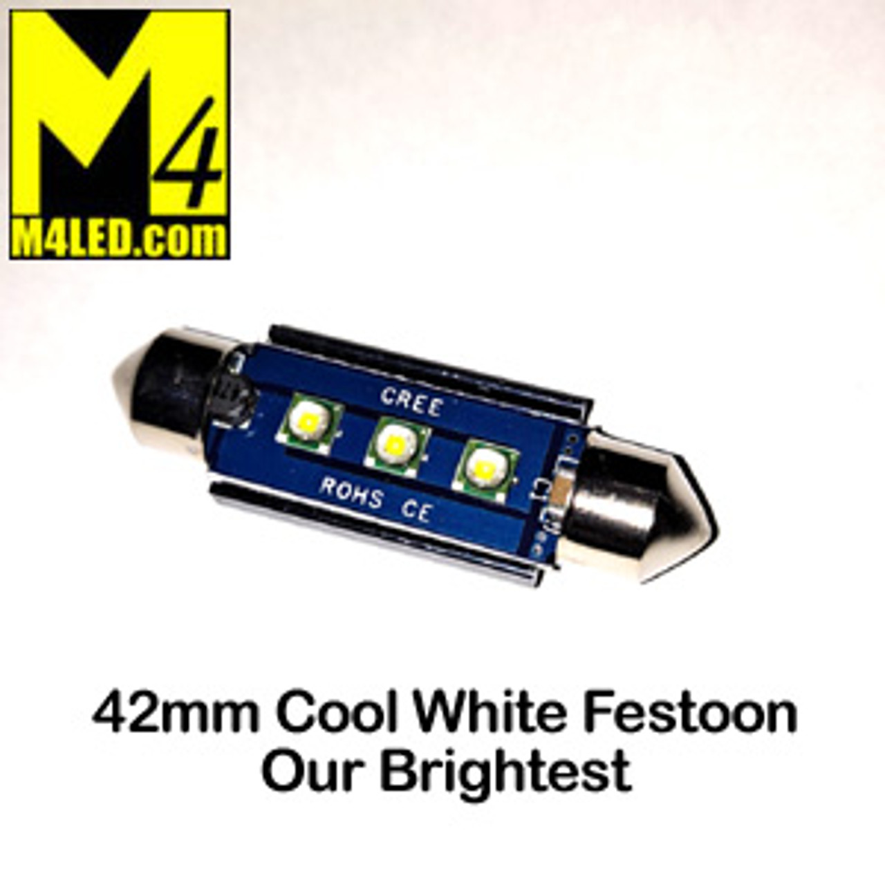 FESTOON-3-CREE-CW Brightest Cool White 42mm 211-2