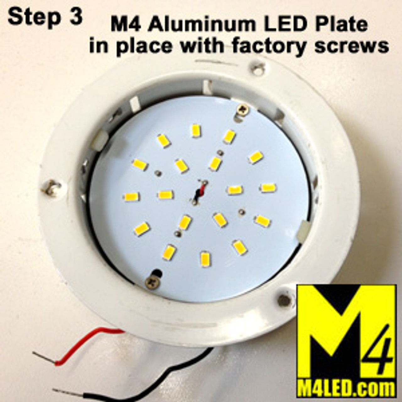 """RETROFIT-18-5630-WW Replacement for 4.5"""" ITC Fixtures Warm White"""
