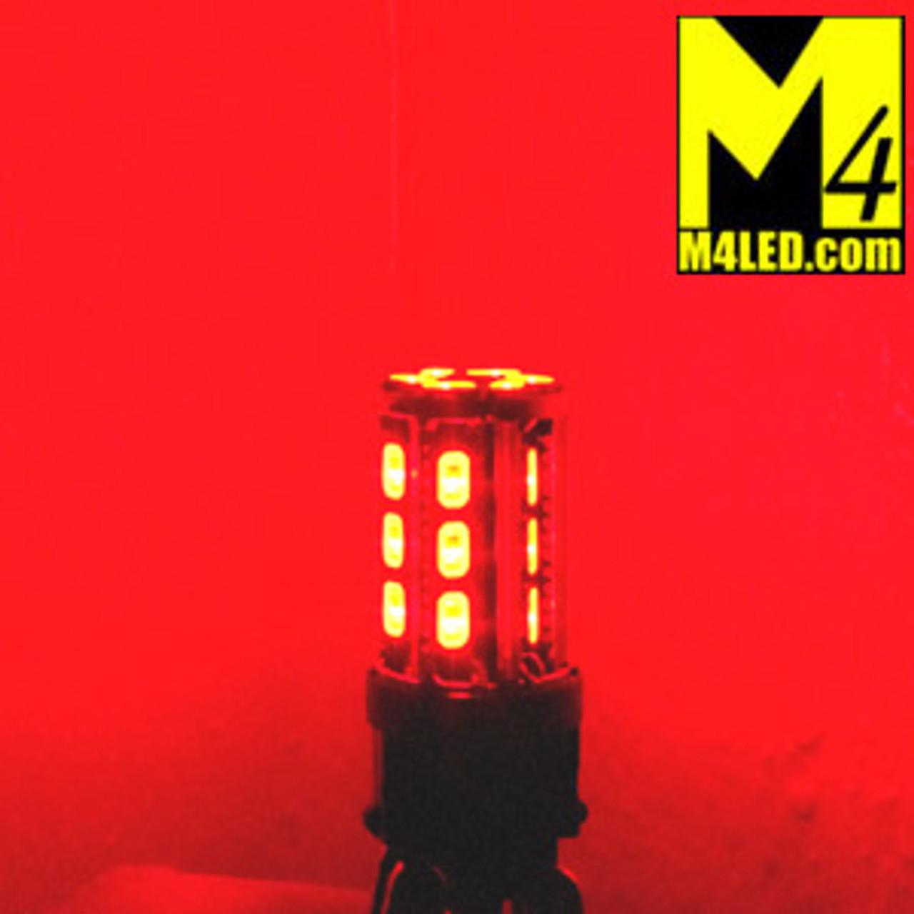 3157-24-5630-RED 3157 Red Tail Light Replacement, Brake/Tail (Hi/Low)