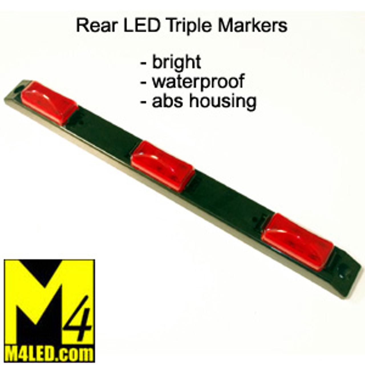 20% Off - Rear Triple LED Clearance Lights