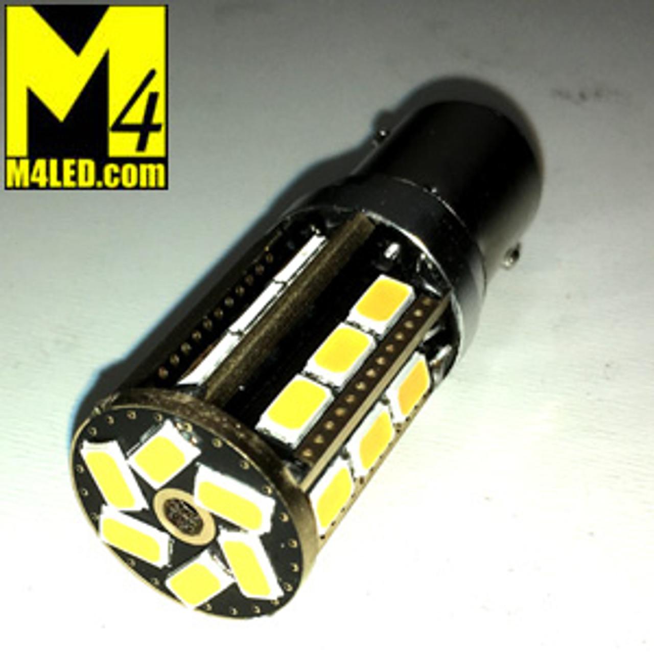 1157-24-5630-AMBER 1157 Amber Tail Light Replacement, Brake/Tail (Hi/Low)