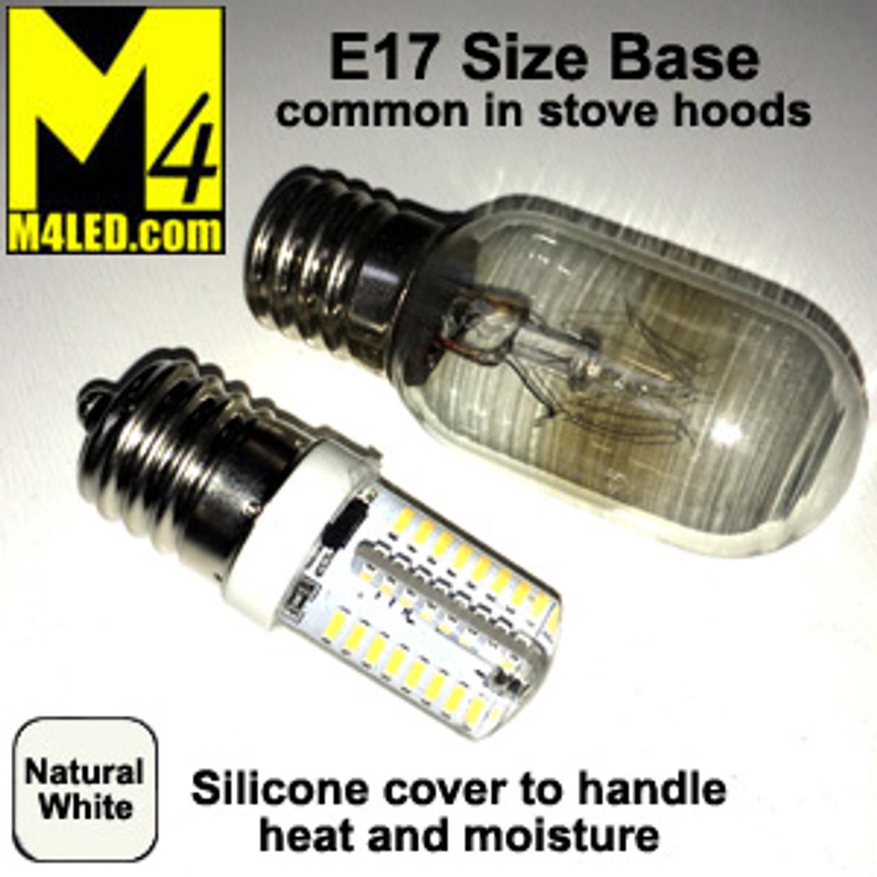 T25-SIL-NW Natural White 110/120v T25 LED with E17 Base