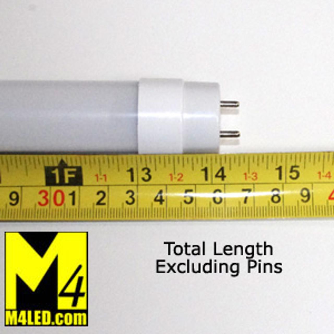 """T8-14TUBE-NW (F14T8) Natural White 14"""" T8 LED Tube Light 12v 4500k"""