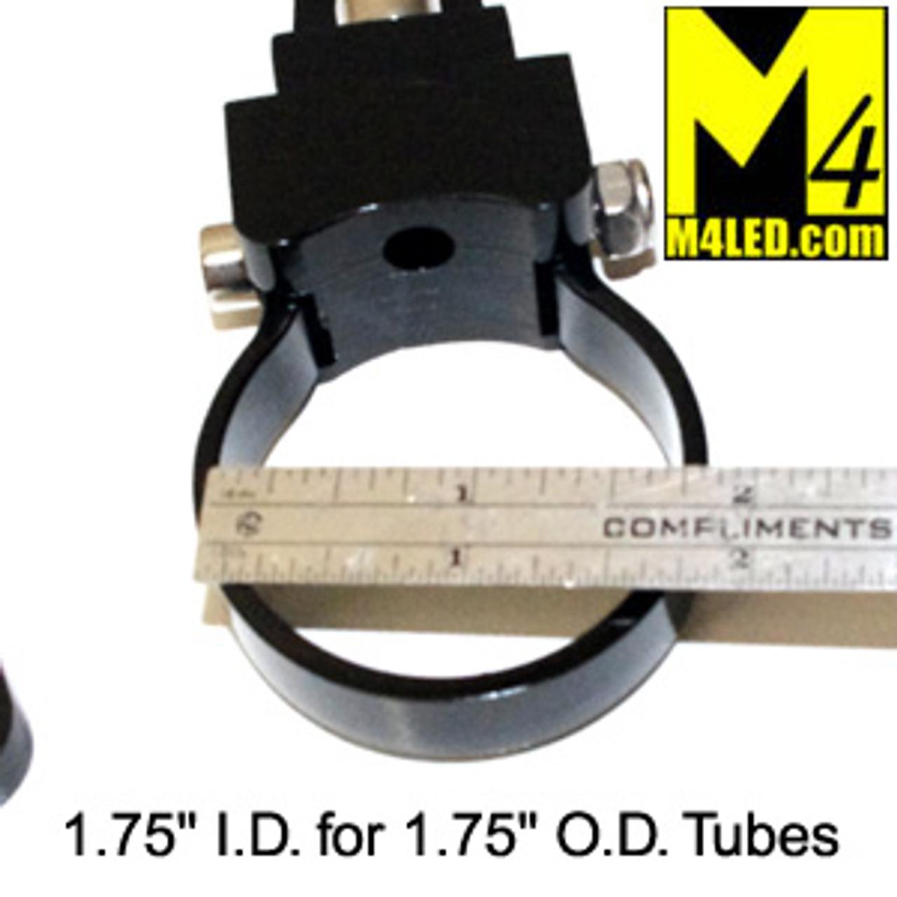 "Versatile Light Bar Mount for 1 3/4"" tubing - Pair"