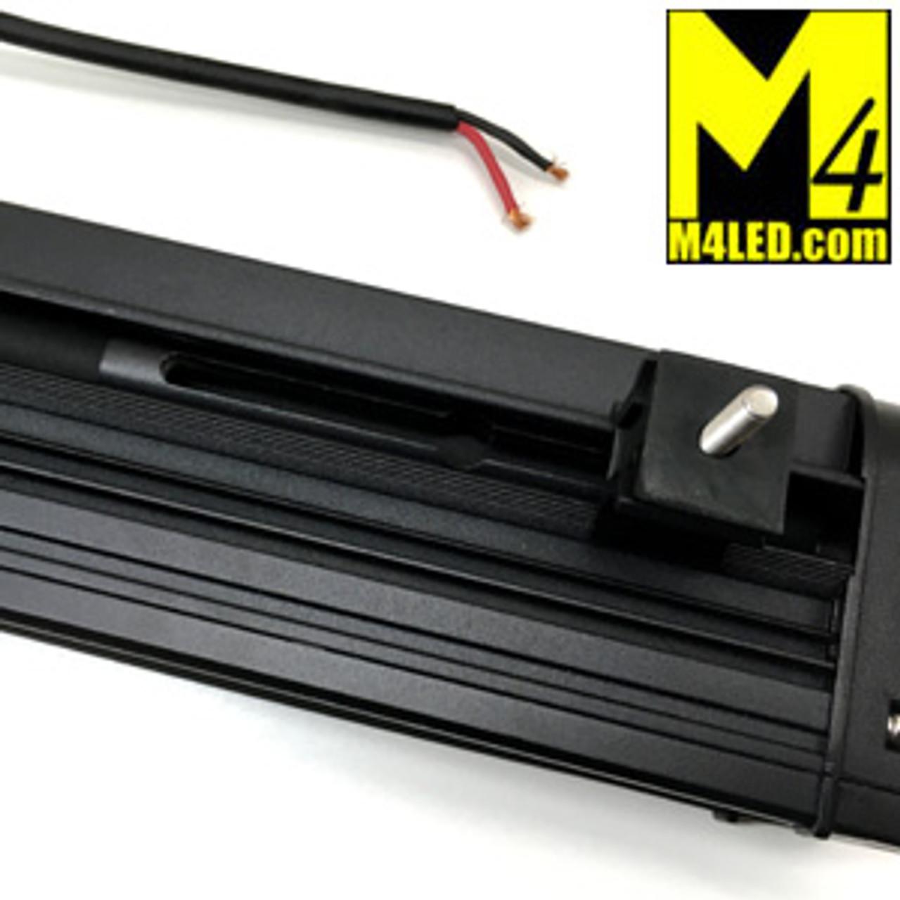 120w Single Row Light Bar Combo Pattern