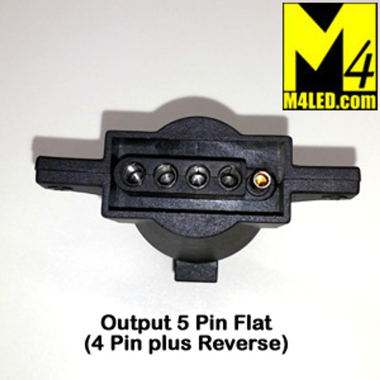 Trailer Harness adapter, 7 Pin to 5 Pin Flat