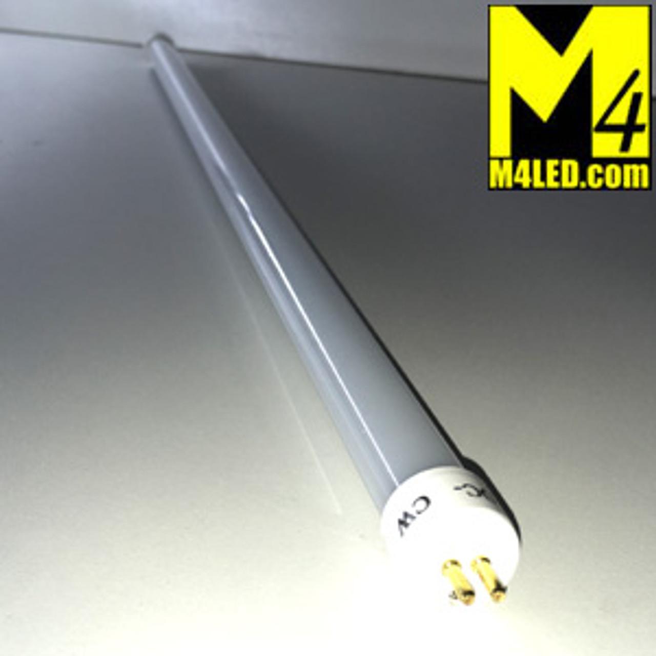 """T5-21TUBE-NW Natural White 12VDC 21"""" T-5 LED Tube Light 4500k F13T5"""