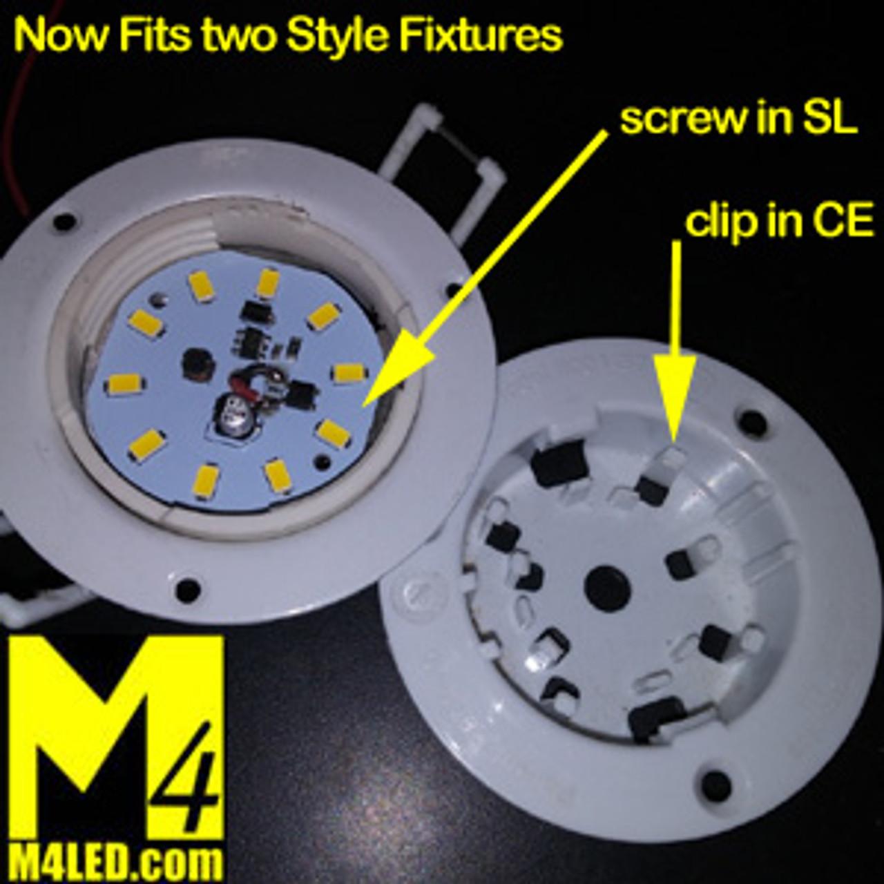 RETROFIT-10-5630-WIRE-WW Replacement for C.E. 58 LED Fixture Warm White