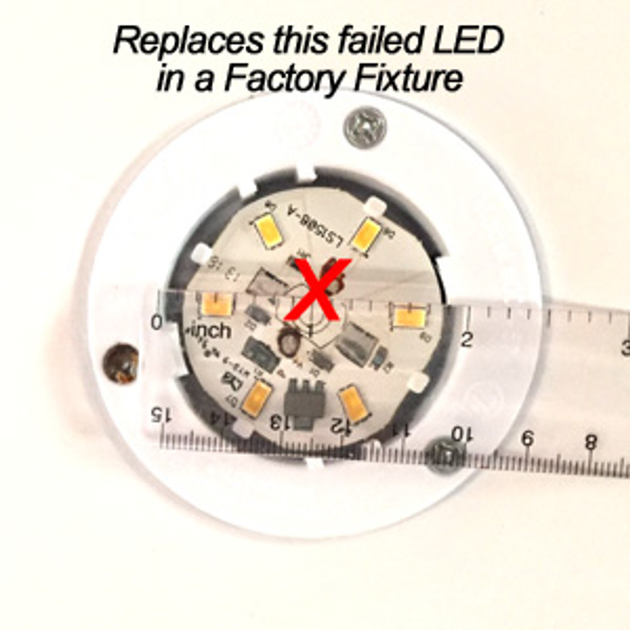 RETROFIT-10-5630-WIRE-NW Replacement for C.E. 57/58 LED Fixture Natural White