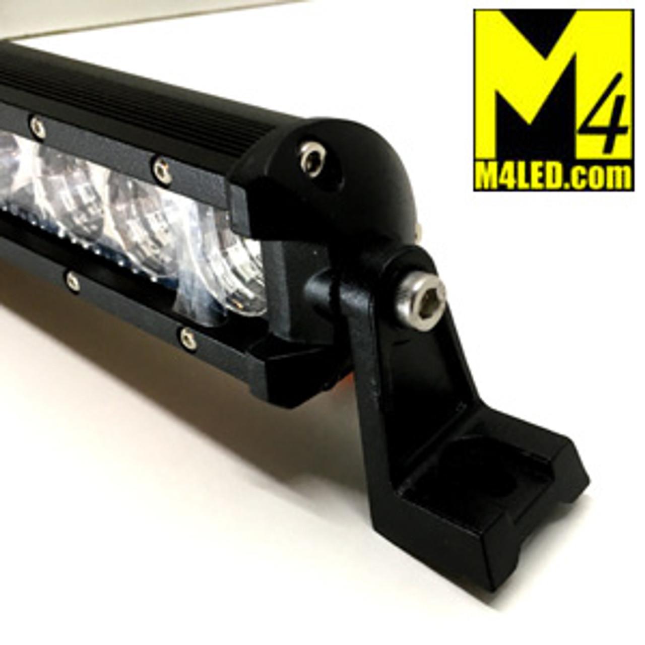 """52"""" Skinny Side Mount 144w Single Row Light Bar Combo Pattern"""