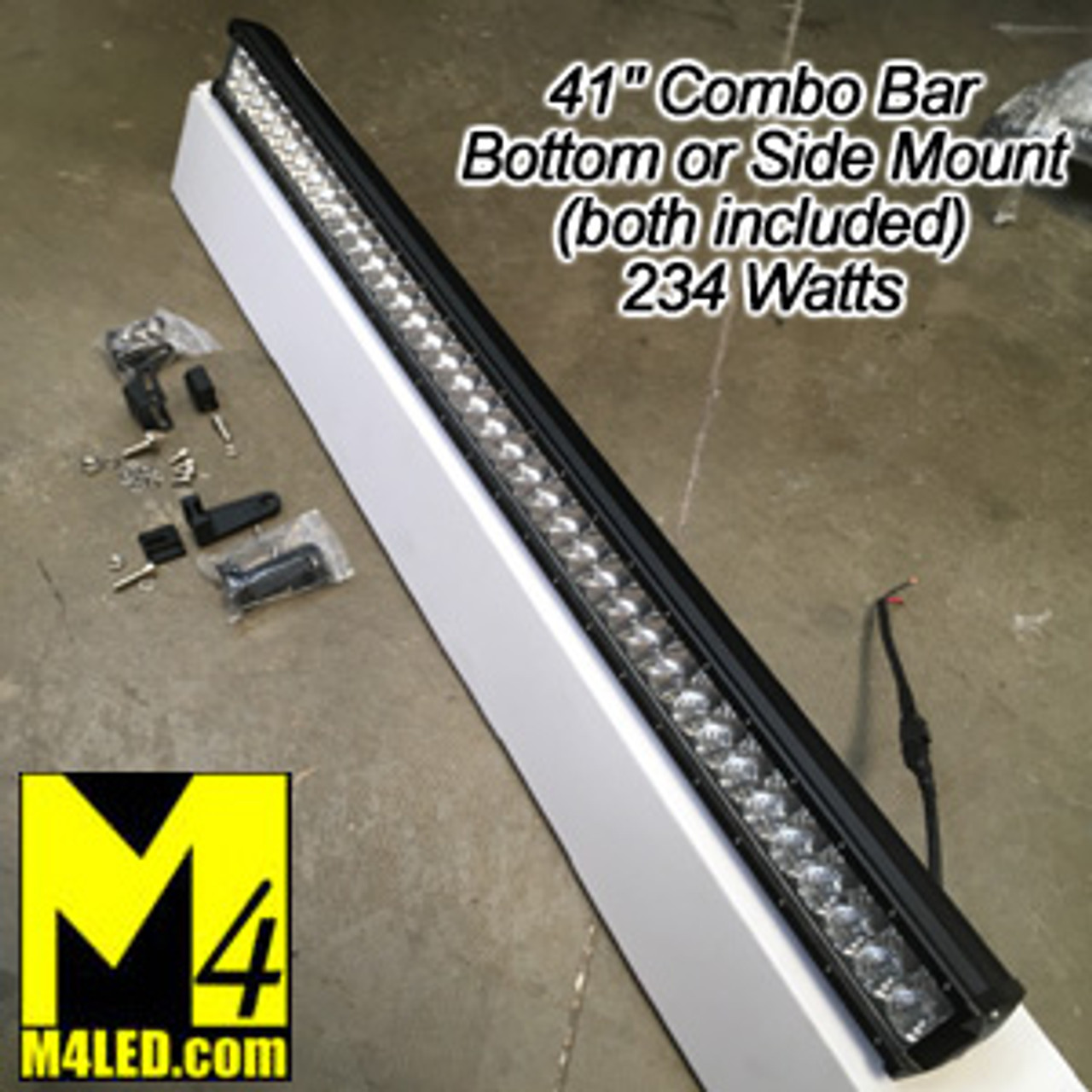 "41"" 234W Bottom or Side Mount CREE LED Chips - Combo Pattern"