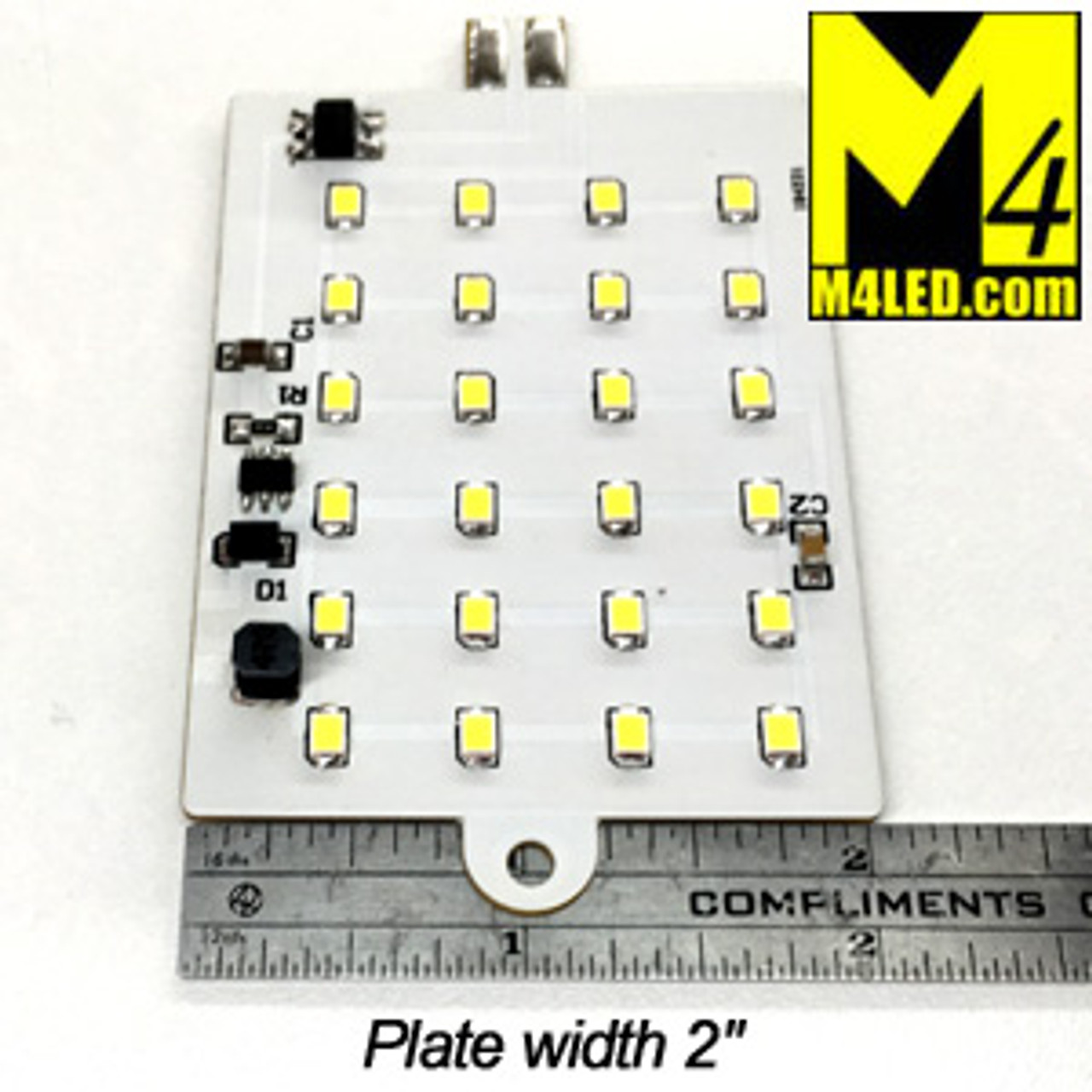 WEDGEPLATE-24-2835-NW Replacement for Factory LED Fixture or Wedge
