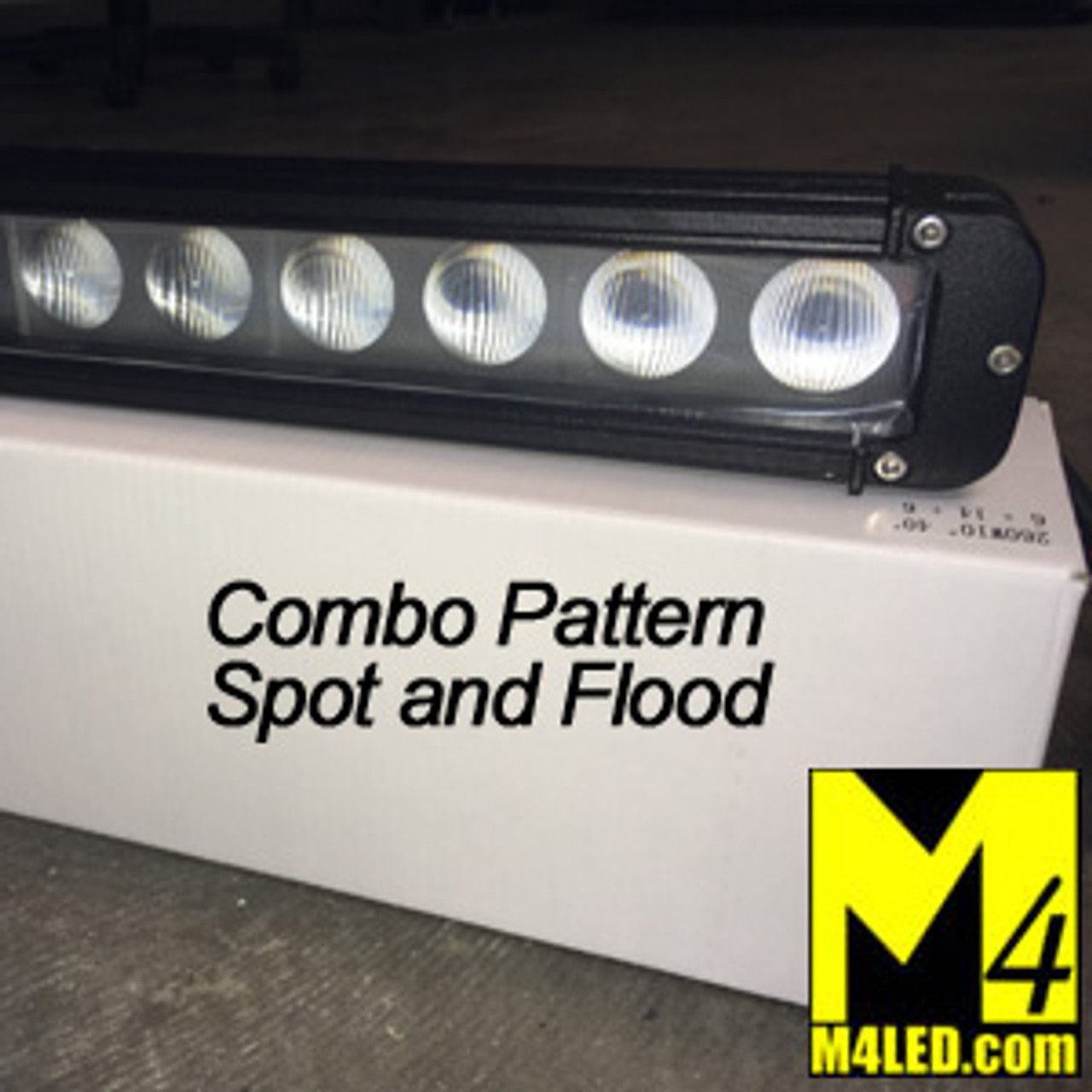 SAN6012R-260 260w Single Row Light Bar Combo Pattern
