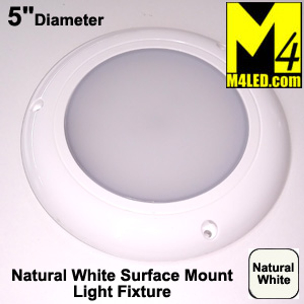 "SAN9111 5"" Round Dome / Area Light Fixture"
