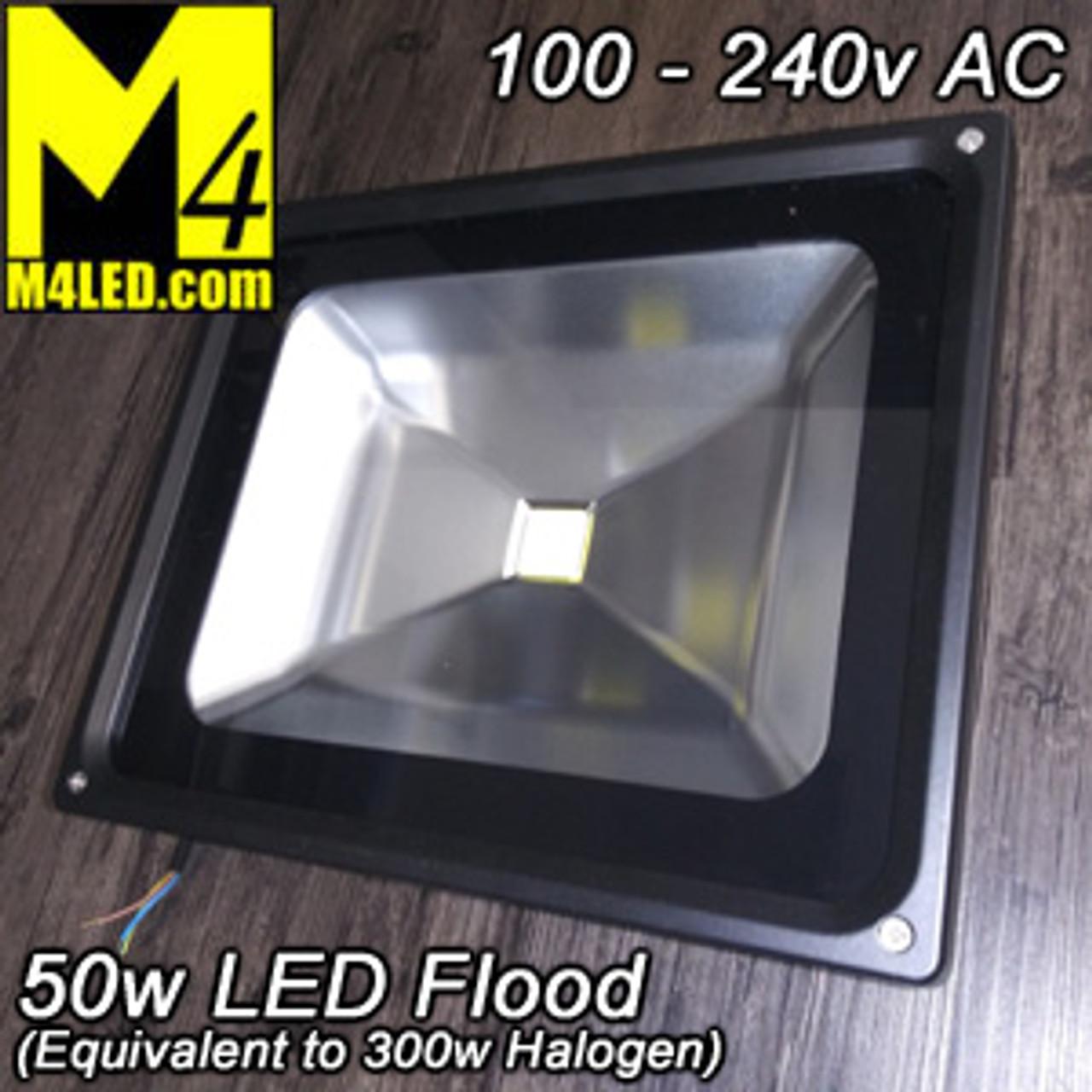 UT-F0501 Large 50w Flood Light (compare to 300w Halogen)