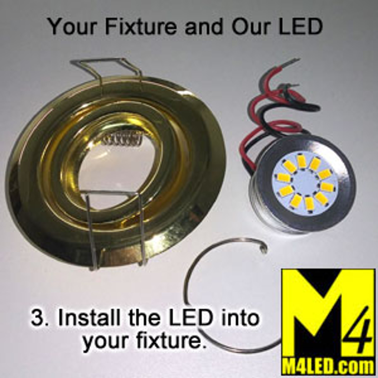EYEBALL-10-5630-CW Cool White LED Retrofit for Halogen Eyeball Fixtures