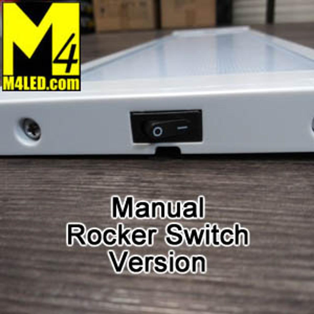 "KW-295-660-RS 26"" Rocker Switch Surface Mount Panel Light"