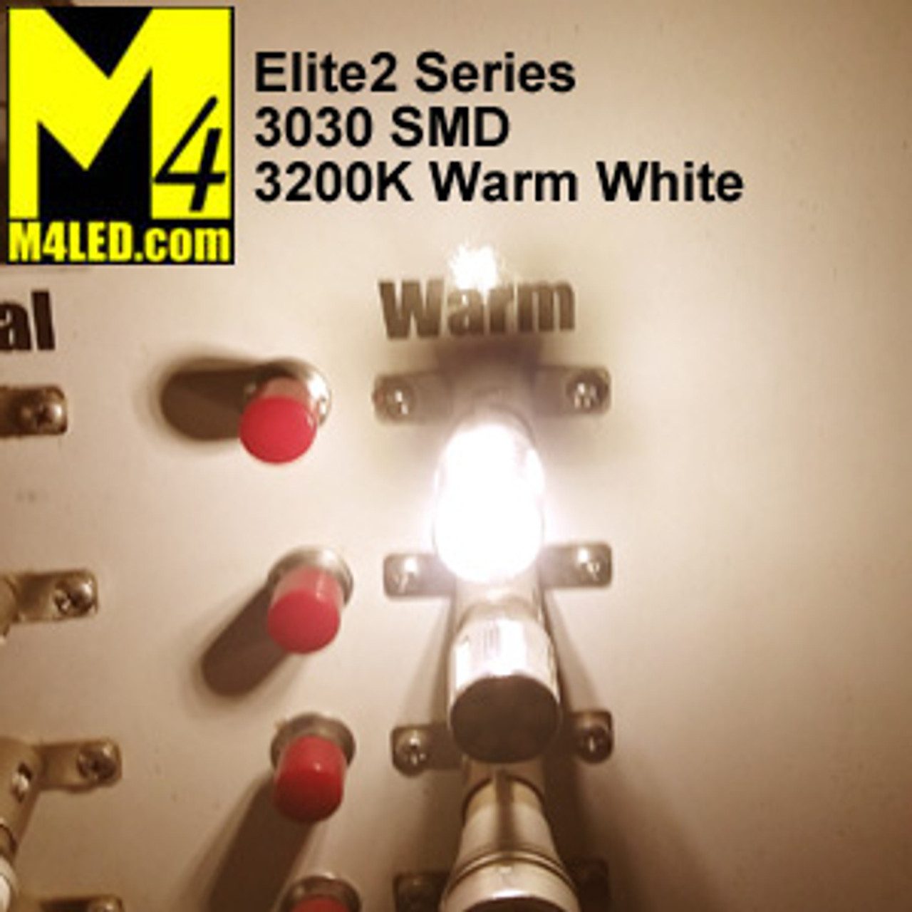 1156-33-3030-WW Warm White Elite2 (1141/1156) BA15d Base