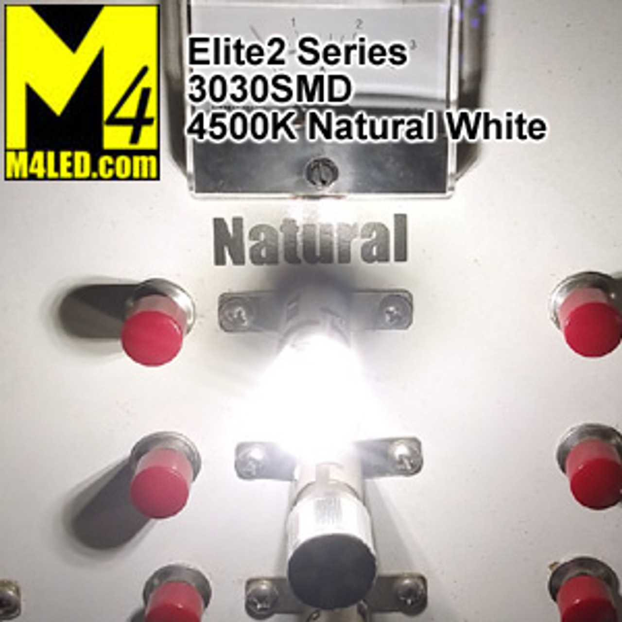 1156-9-3030-NW Natural White Elite2 (1003/1141/1156) BA15s Base
