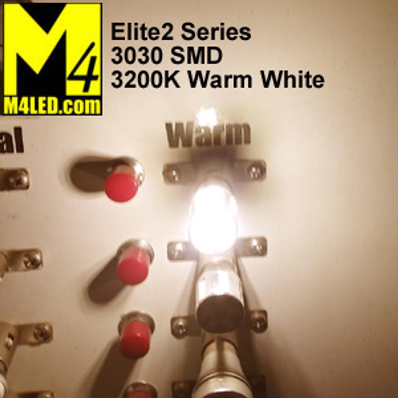 1156-9-3030-WW Warm White Elite2 (1003/1141/1156) BA15s Base