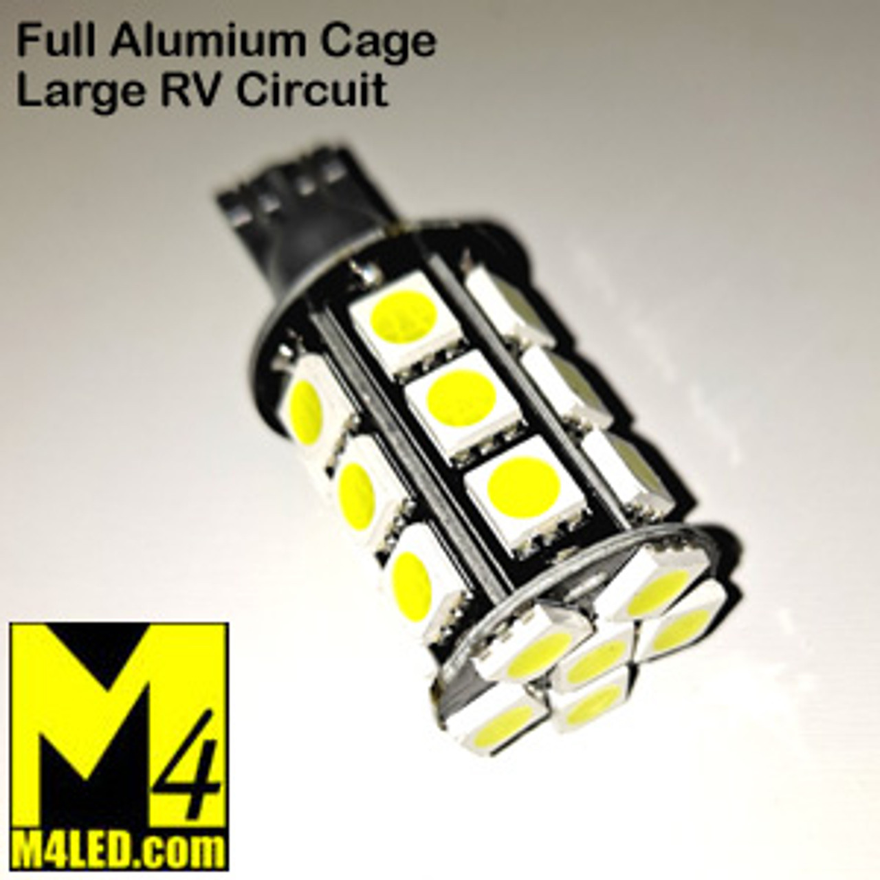 921-24-5050-NW Natural White 5050 SMD Light Bulb with Wedge Base