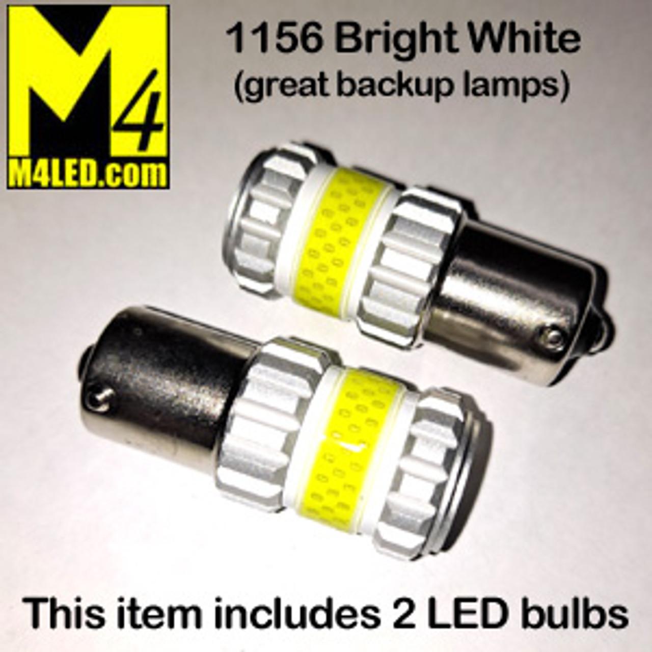 1156-G12-WHITE PAIR 1156 Brake and Tail Light (Backup)