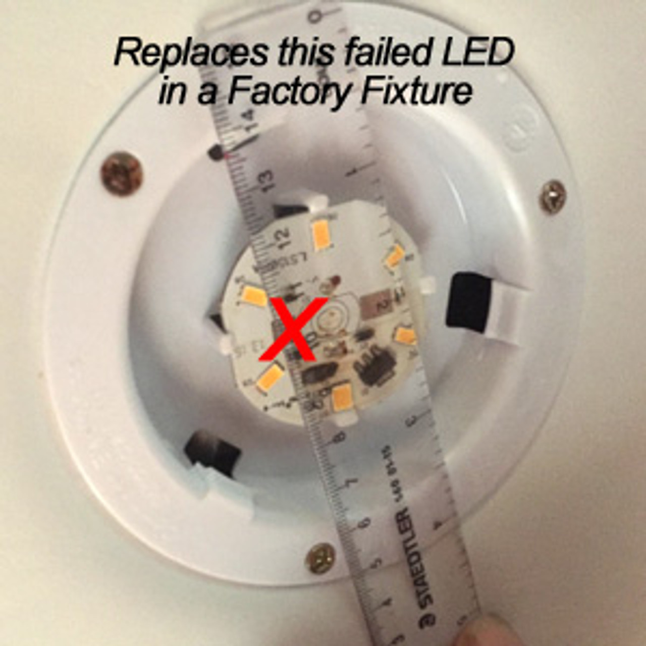 RETROFIT-10-5630-WIRE-CW Replacement for C.E. 57/58 LED Fixture Cool White