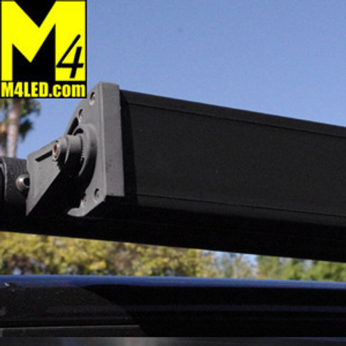 "Double Row Light Bar Cover Black ABS 5.75""  fits 6"" Lights 2.85"" tall or less"