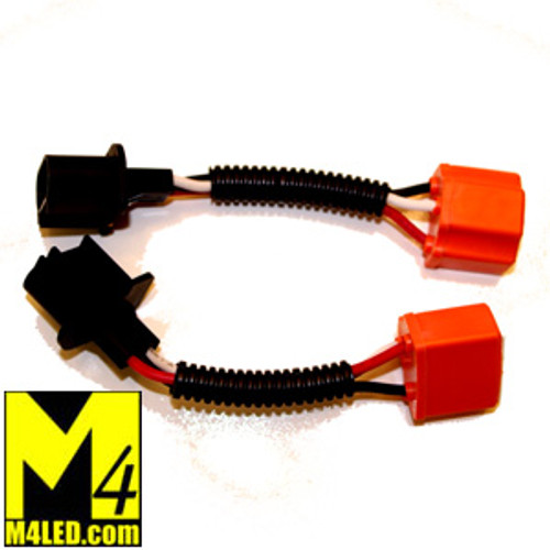 H13 to H4 Headlight Adaptor fits Jeep and More / Pair